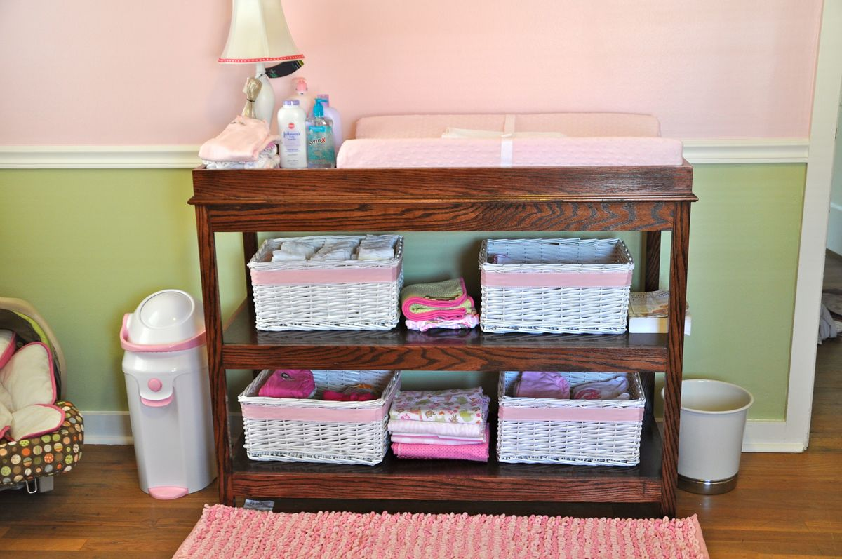 Ana White Oak Simple Changing Table Diy Projects
