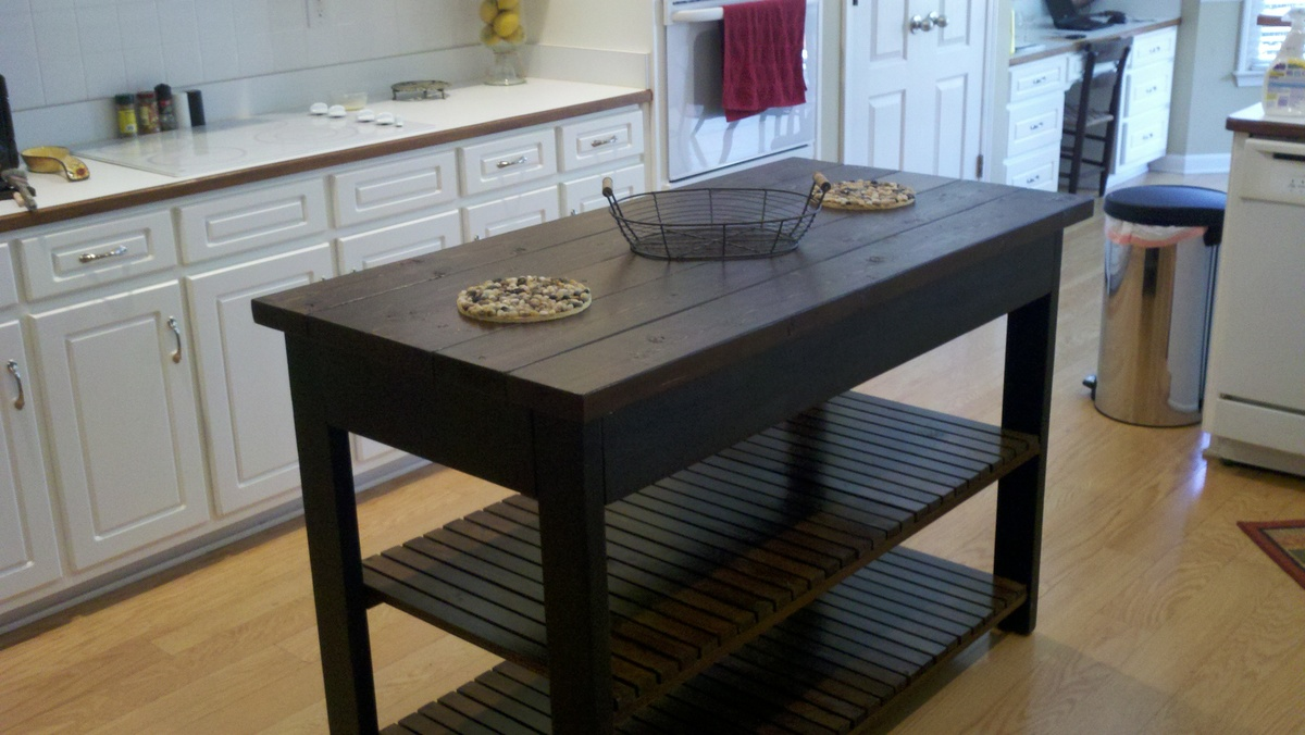 ana white easy kitchen island diy projects
