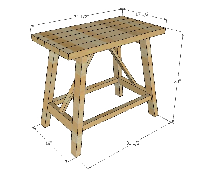 Build This End Table! DIY This End Table With Free Plans From Ana White!