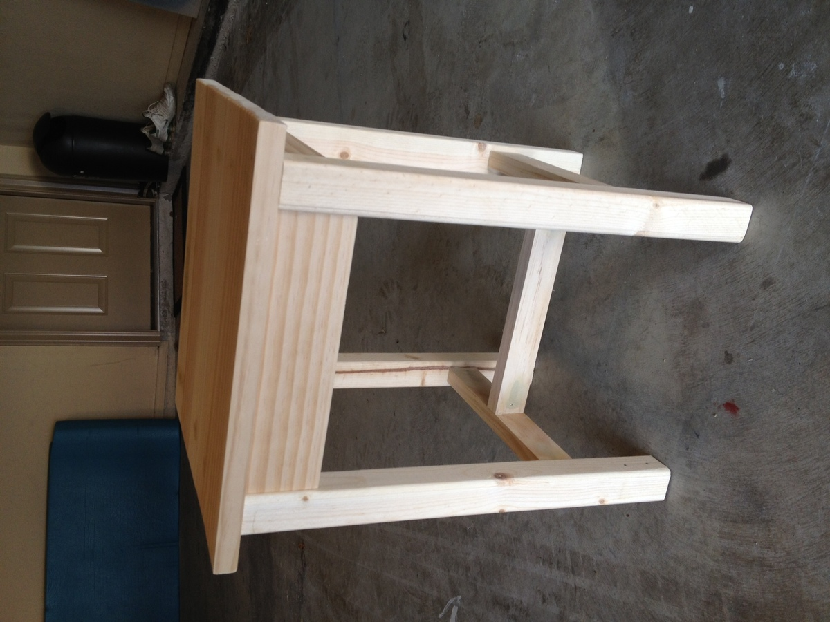 Ana white outdoor adirondack side table diy projects for Adirondack side table plans
