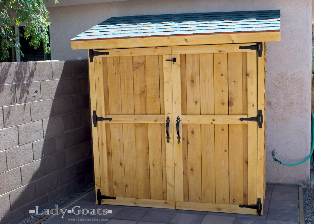 build a cedar shed free easy plans anyone can use to build their own