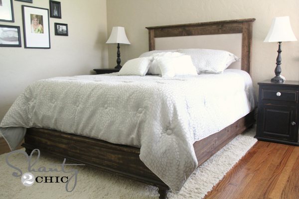 Make An Wood Framed Upholstered Headboard Free Step By Tutorial