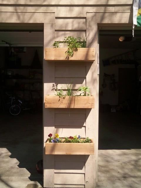 Ana White Vertical Herb Garden Diy Projects