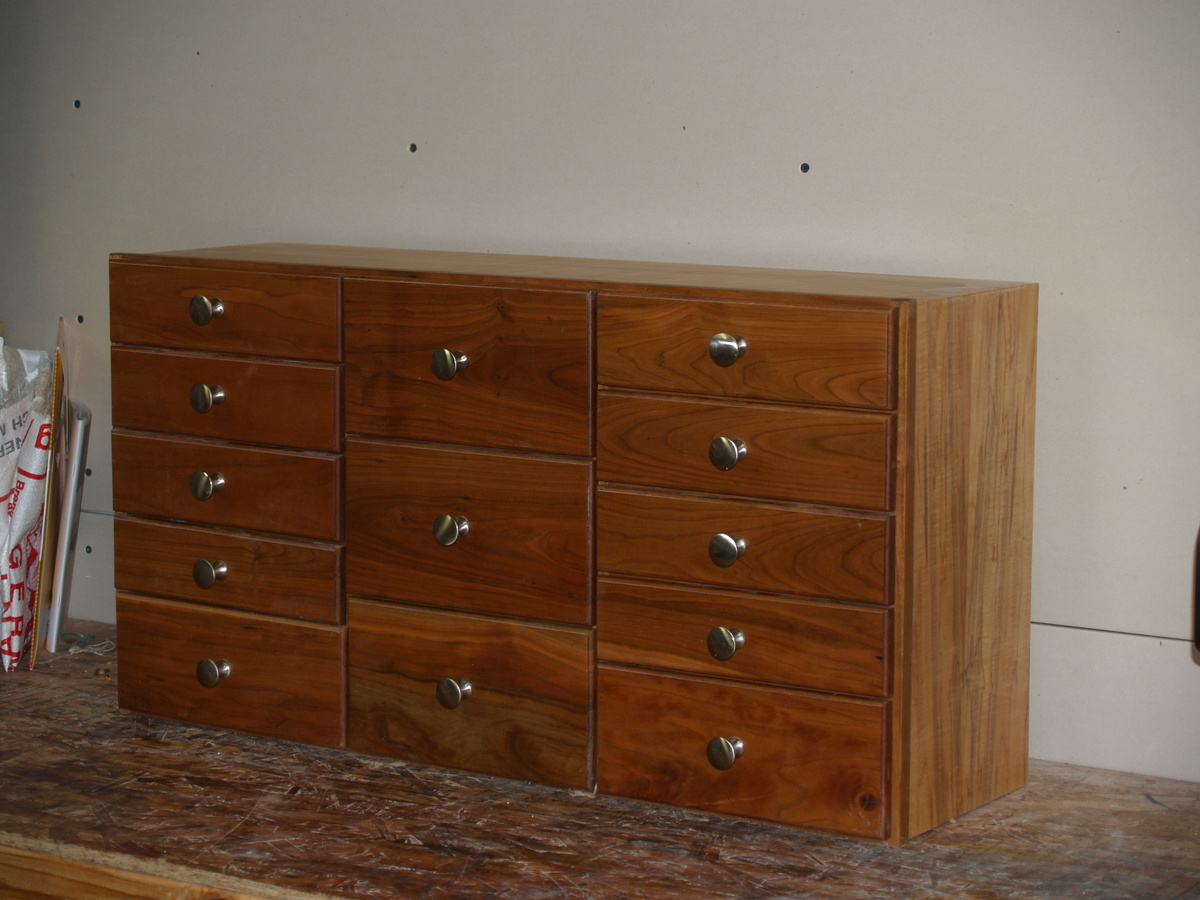 Amazing photo of Ana White Desk top chest of Drawers DIY Projects with #492511 color and 3264x2448 pixels
