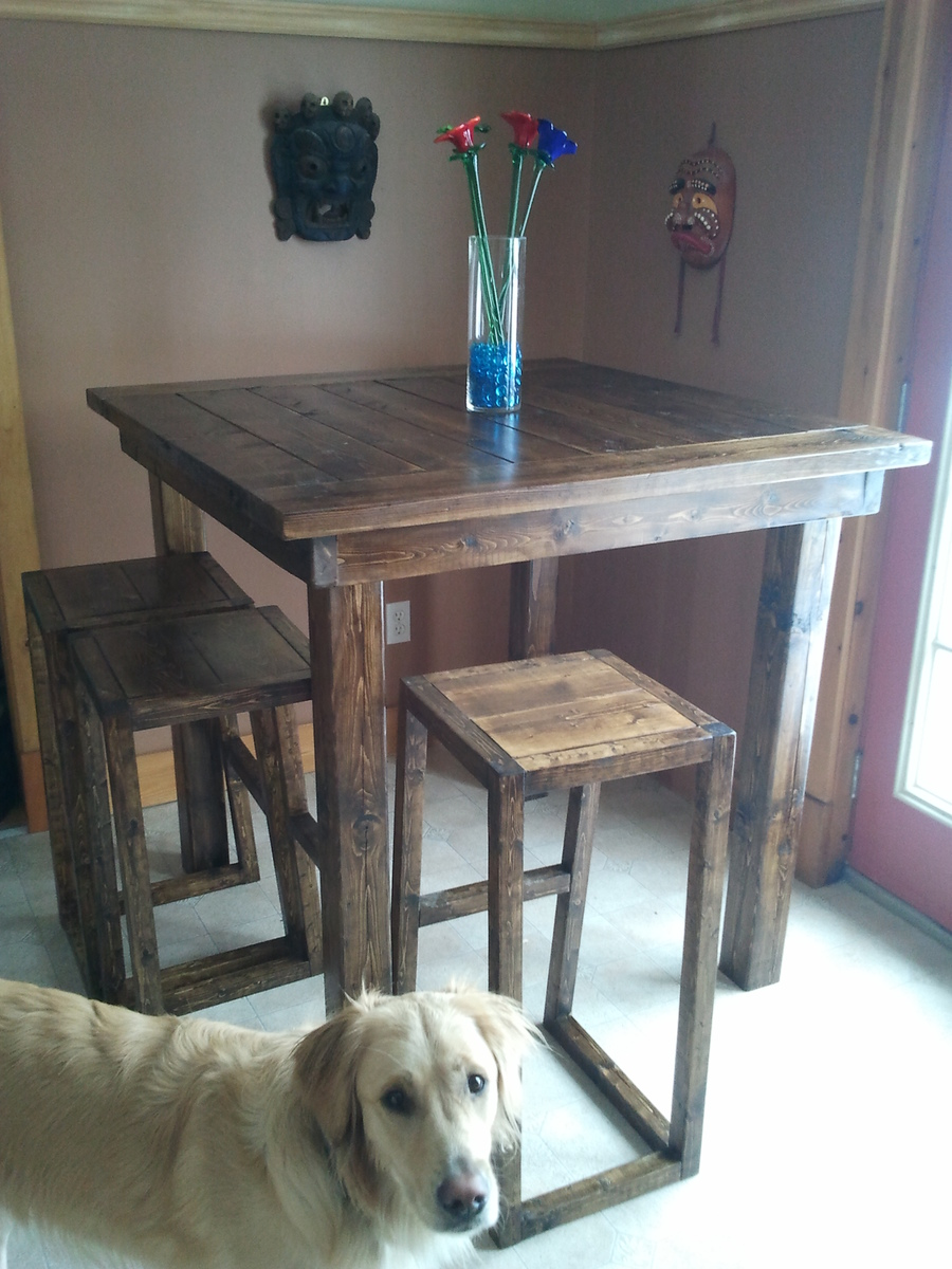Ana White | Pub style table - DIY Projects