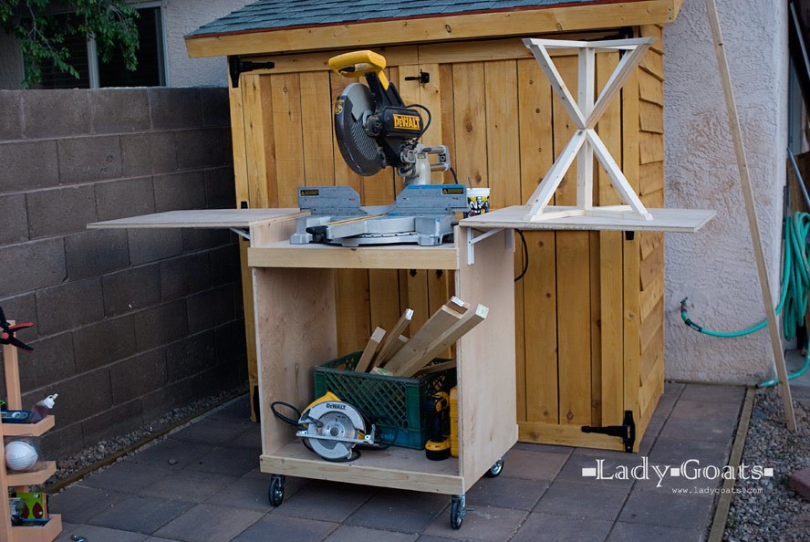 Miter Saw Cart Ana White