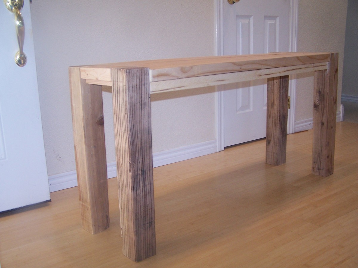 Ana White Big Ur Counter Height Bench Diy Projects
