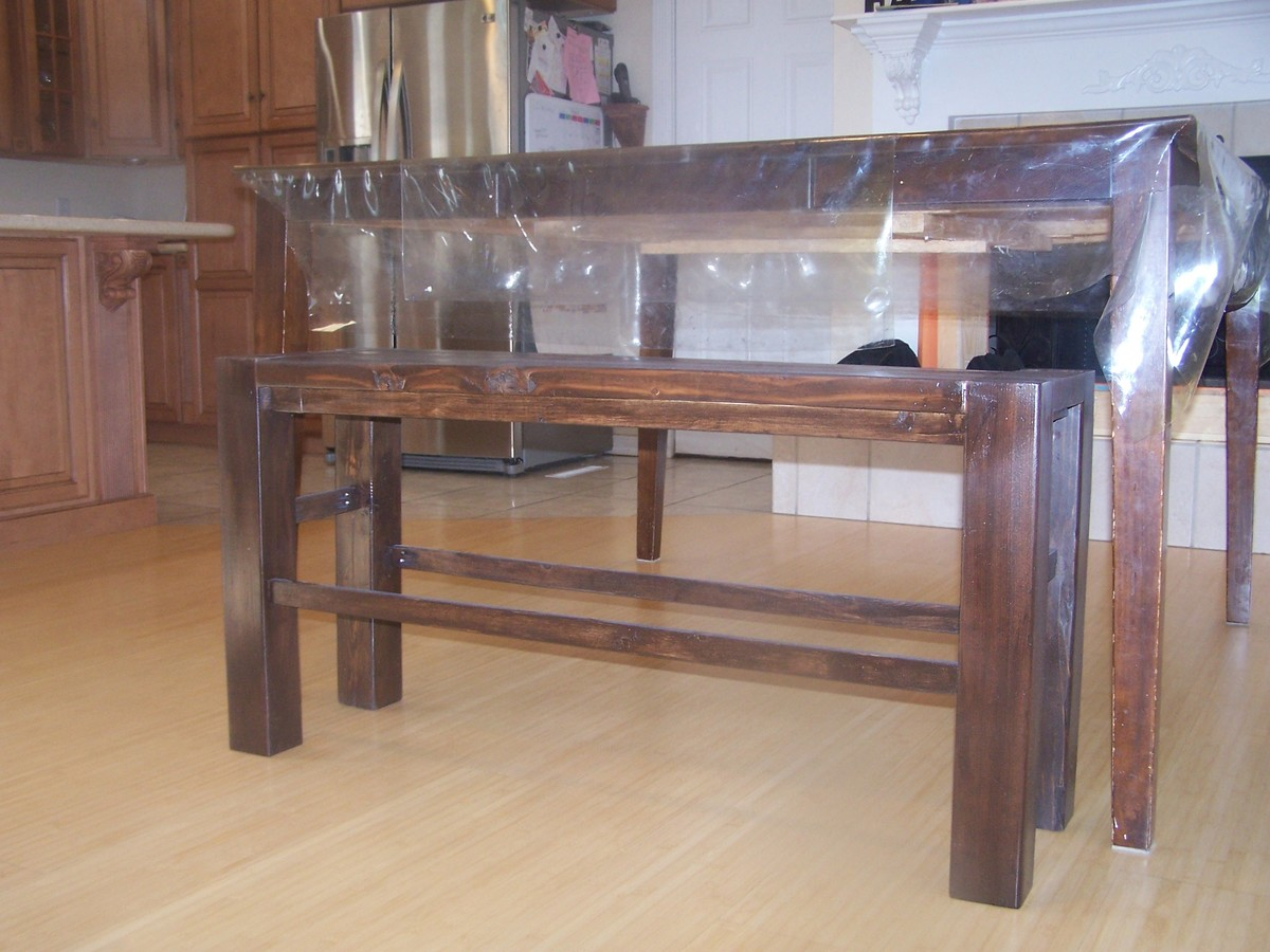 ... counter height bench free wood i have been wanting a bench for my