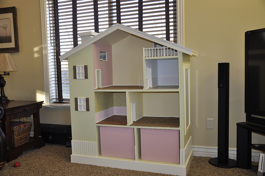 ana white | my bookshelf dollhouse - diy projects
