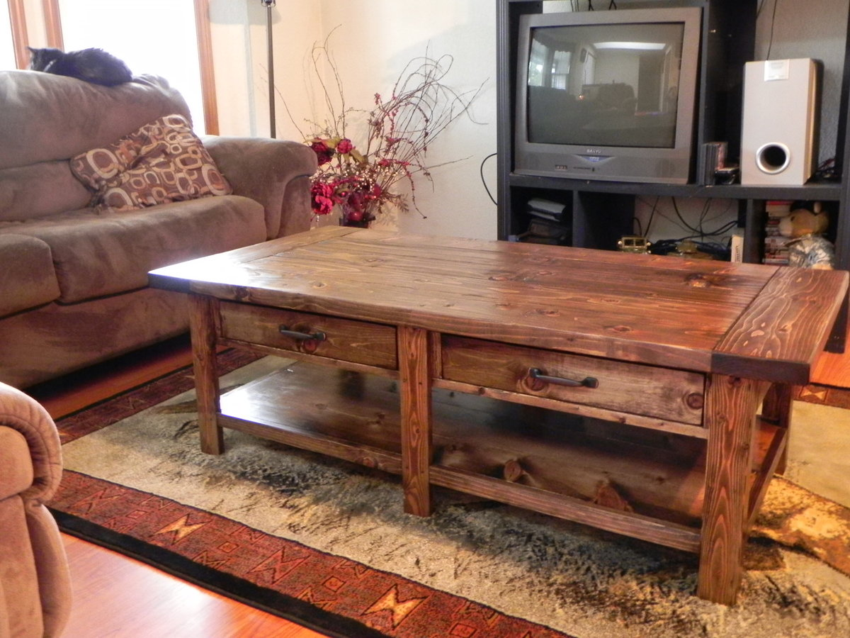 Ana White Benchright Coffee Table Diy Projects