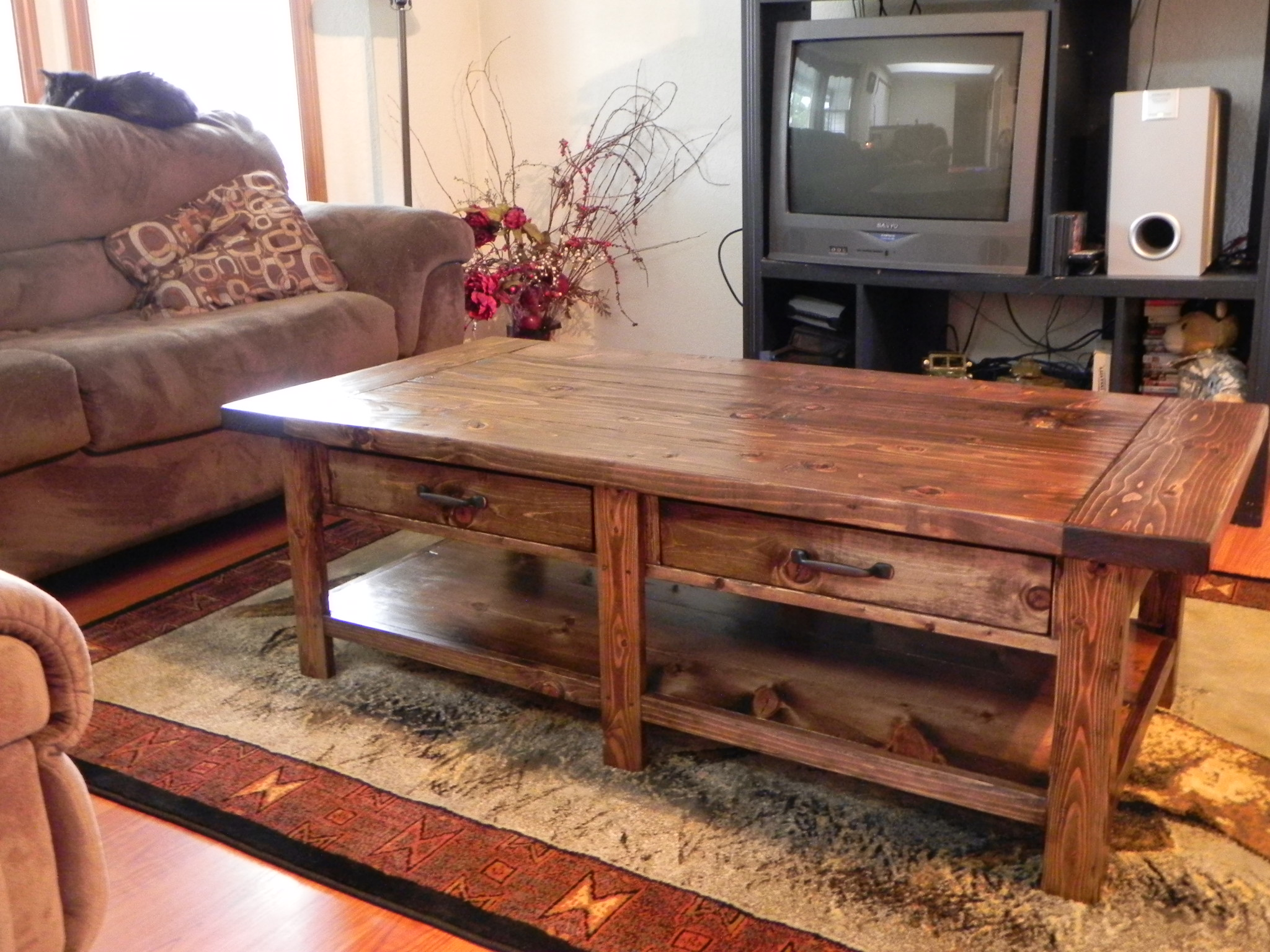 Benchright Coffee Table Do It Yourself Home Projects From Ana White