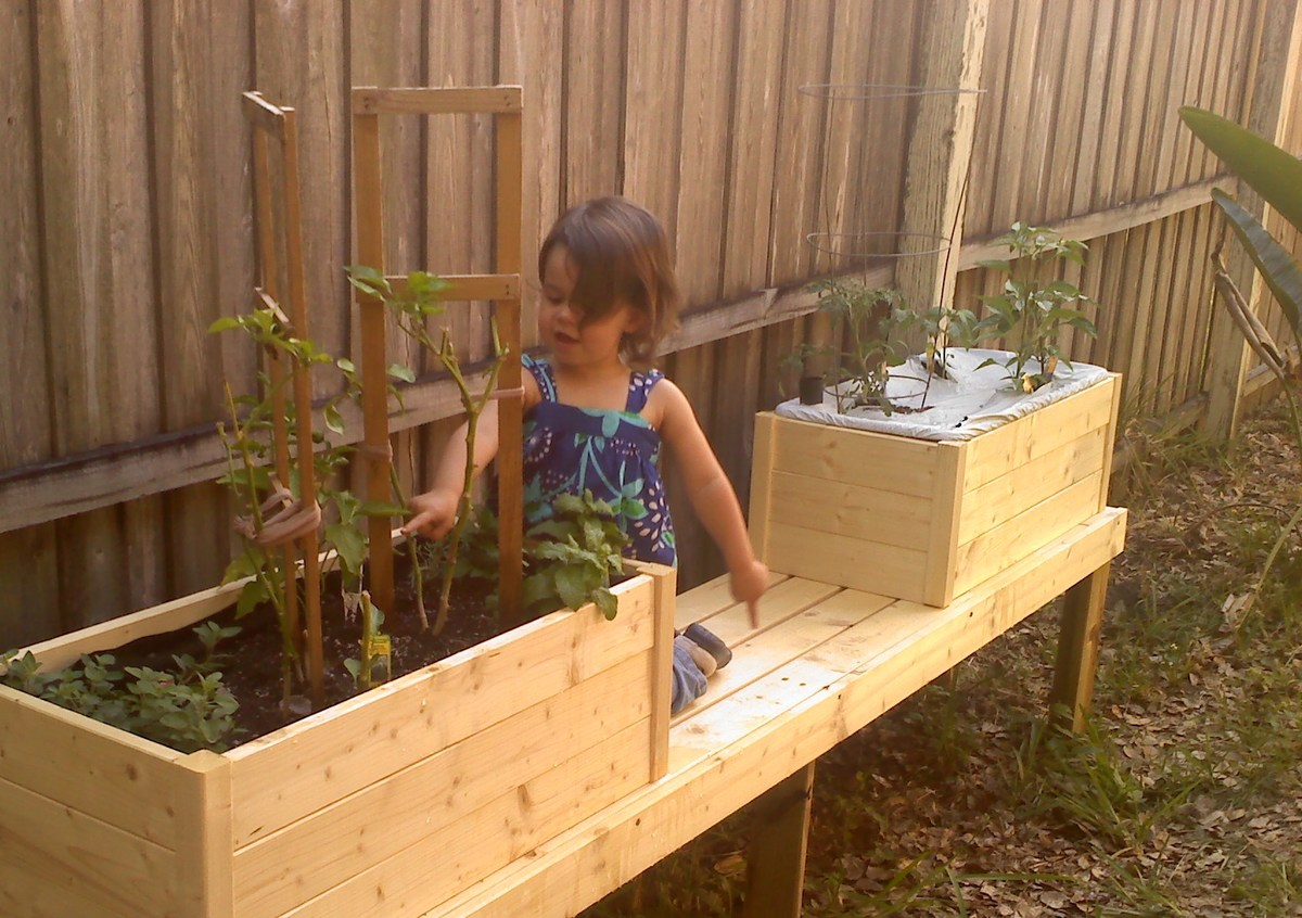 Ana White Modified To Fit An Earthbox And Mounted To A