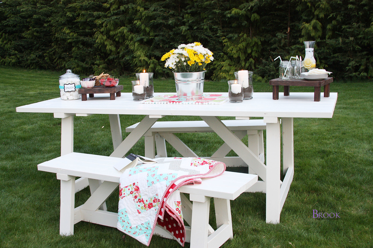 Ana White | Providence Table - DIY Projects