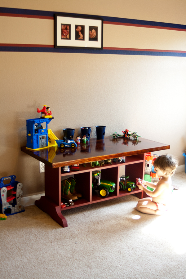 Elementary Trestle Table Inspired By Land Of Nod
