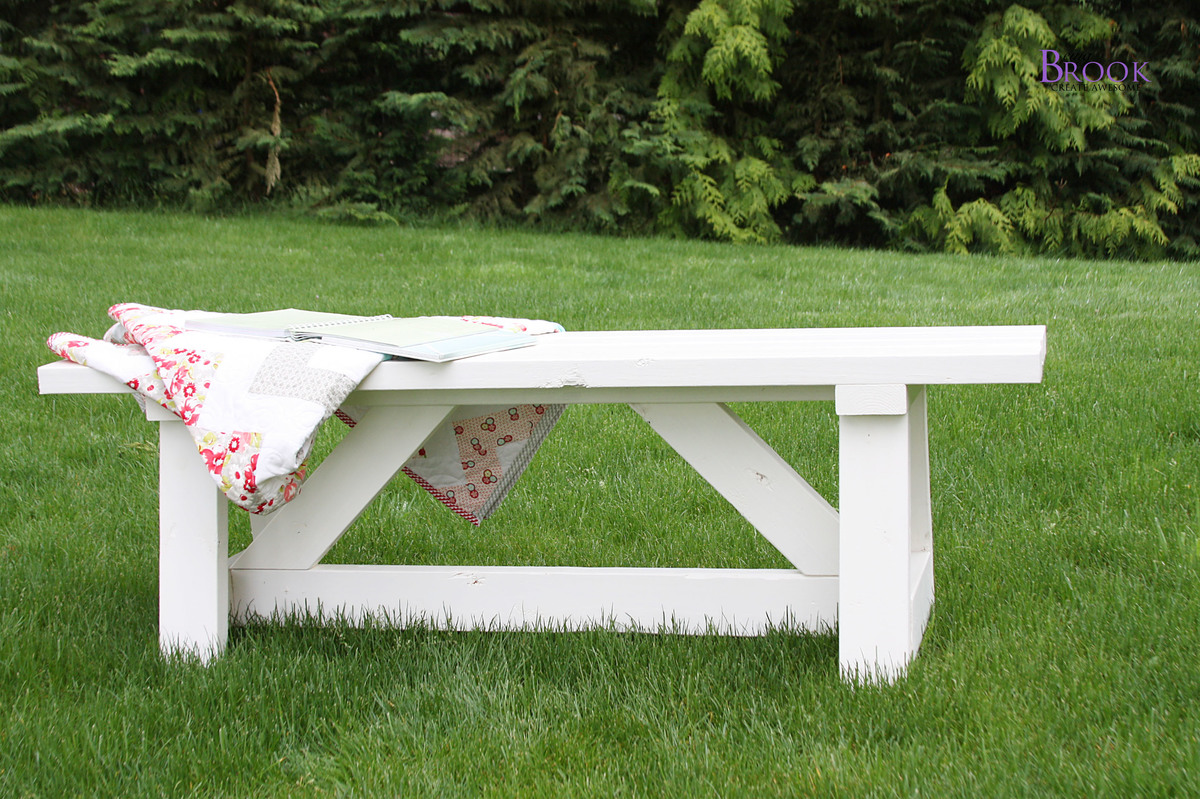 ana white providence bench diy projects
