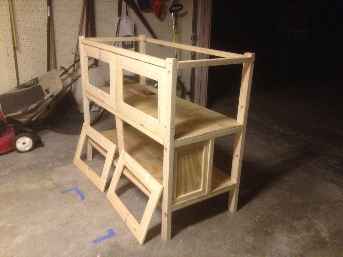 Ana White Two Story Rabbit Hutch Diy Projects