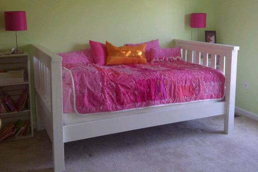 Ana White | Simple Bed - Twin used as a daybed - DIY Projects