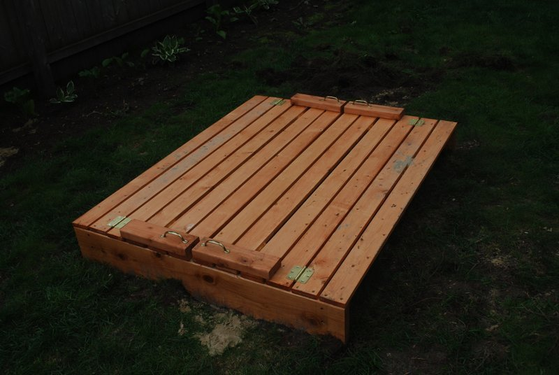 Ana White | Sandbox with Benches - DIY Projects