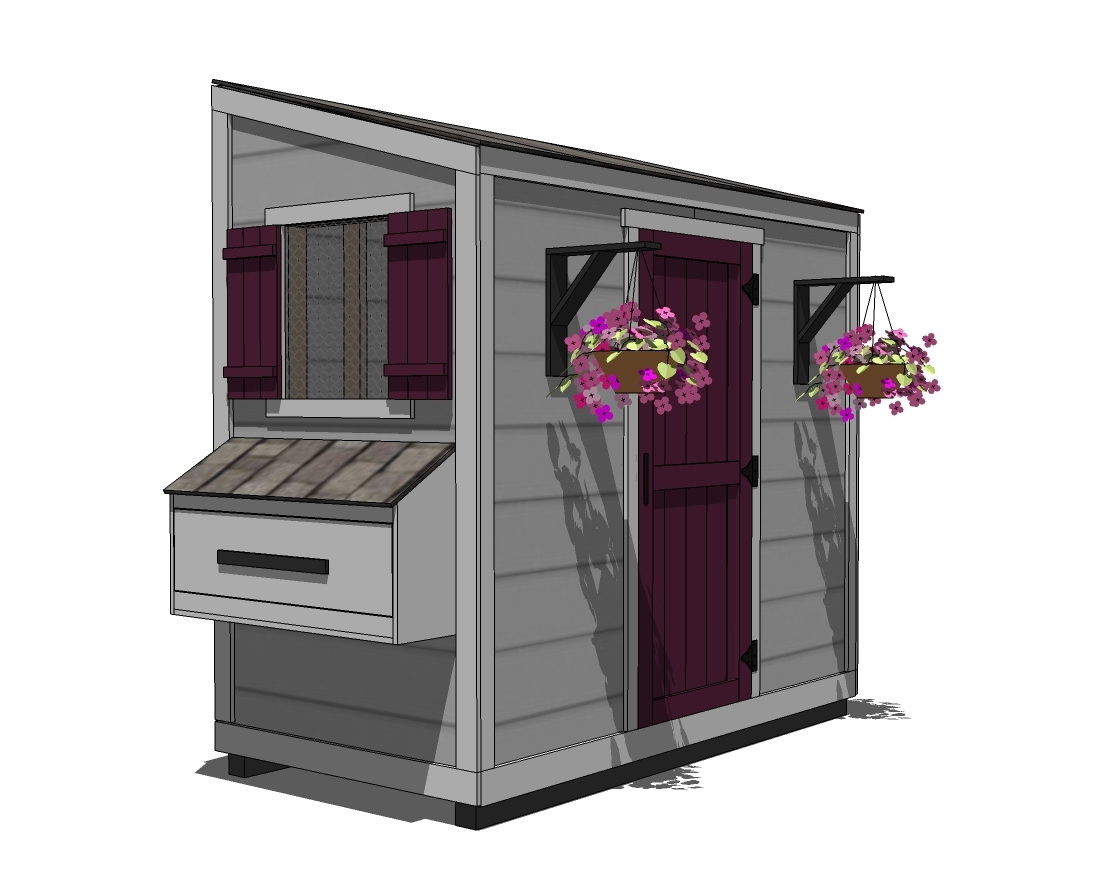 Ana white shed chicken coop diy projects - Chicken coop blueprints designs plans ...