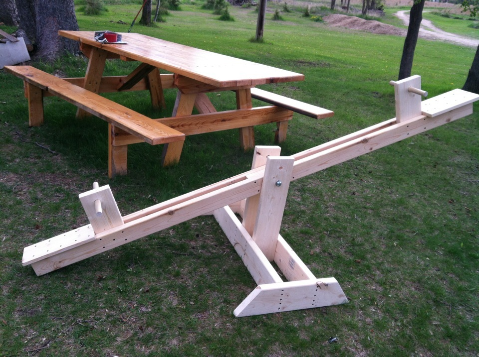 Do It Yourself Home Design: Let's Go Play On The See-saw! - DIY Projects