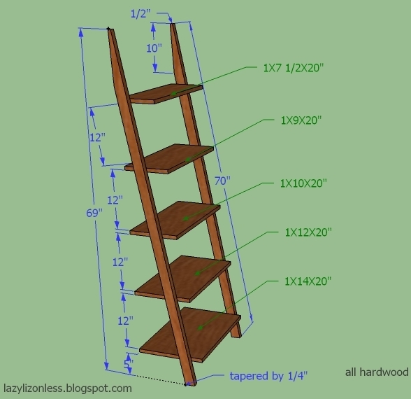 diy leaning bookcase plans plans free