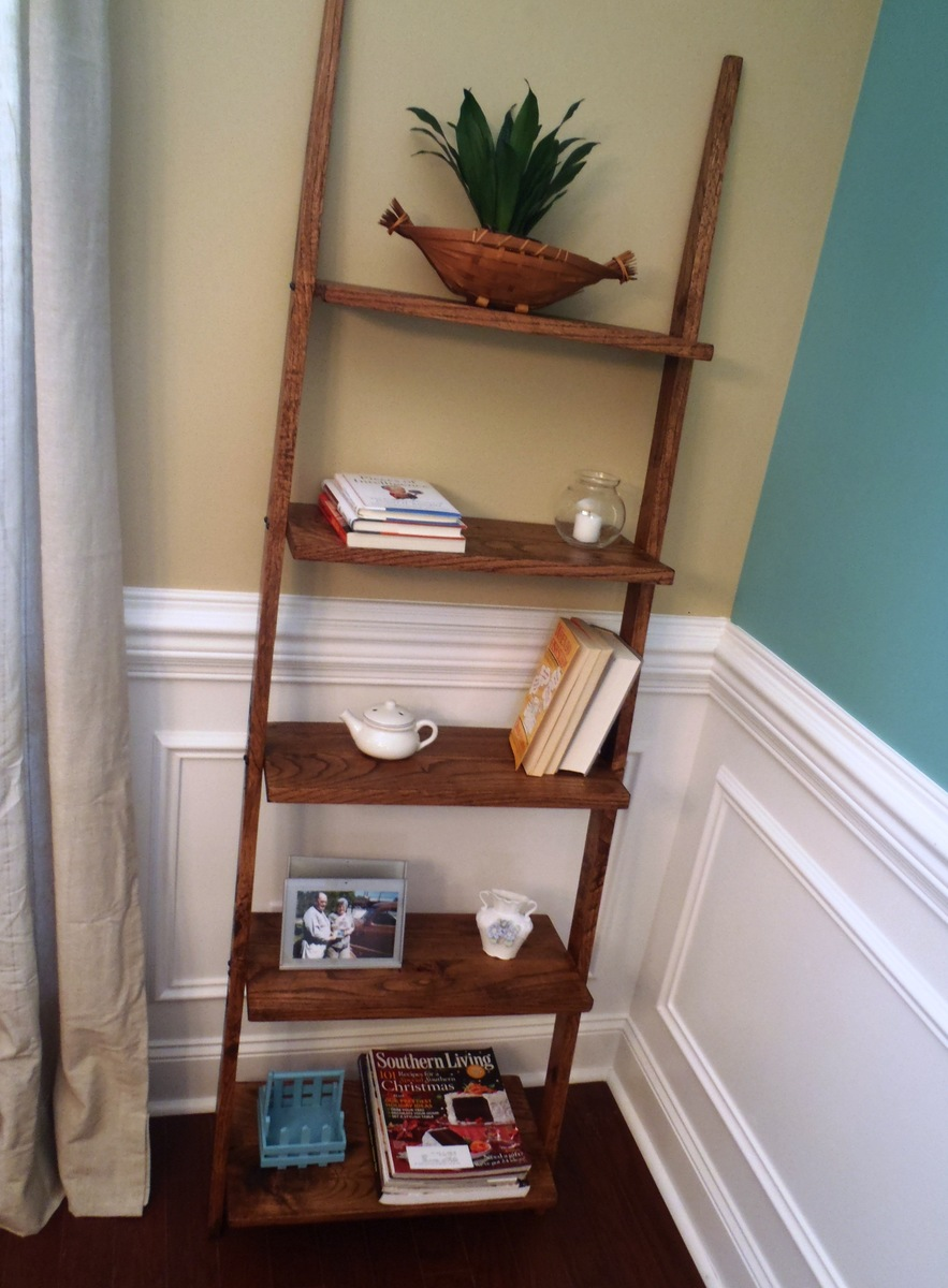 diy with appealing black bookcase bookcases astonishing ladder leaning drawers shelf