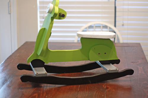 ana white charlies scooter diy projects - Homemade Scooter Cover Horse Plans