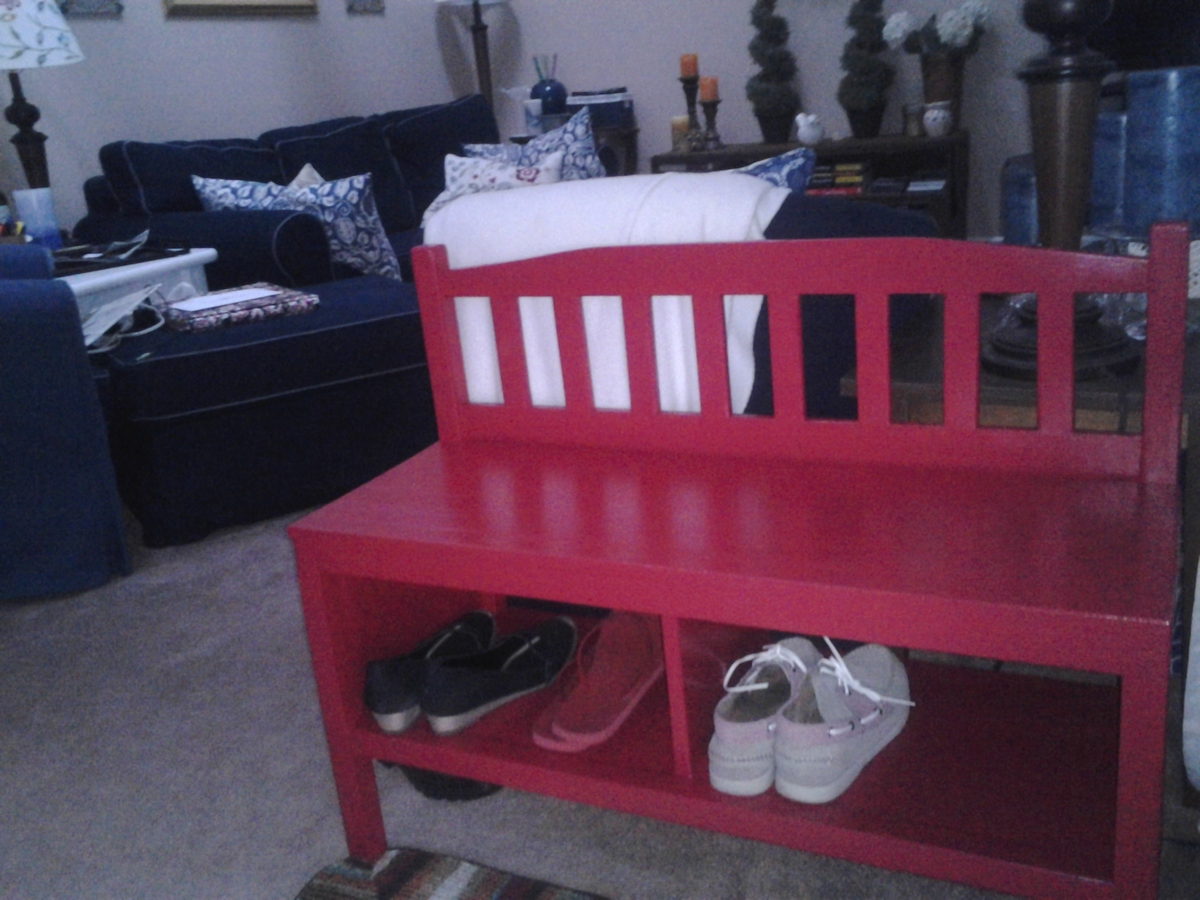 Ana White Cottage Bench For My Cape Cod Diy Projects