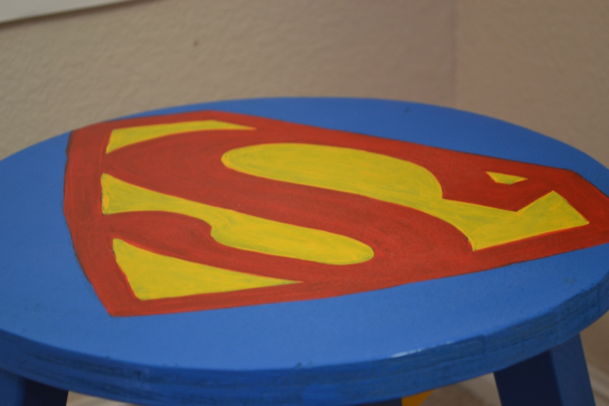 Ana White Superman Stool Diy Projects