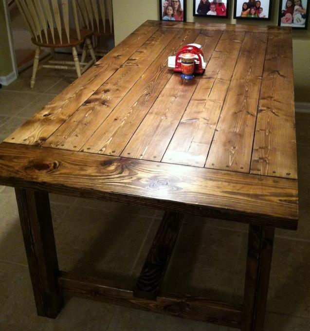 farmhouse table live edge