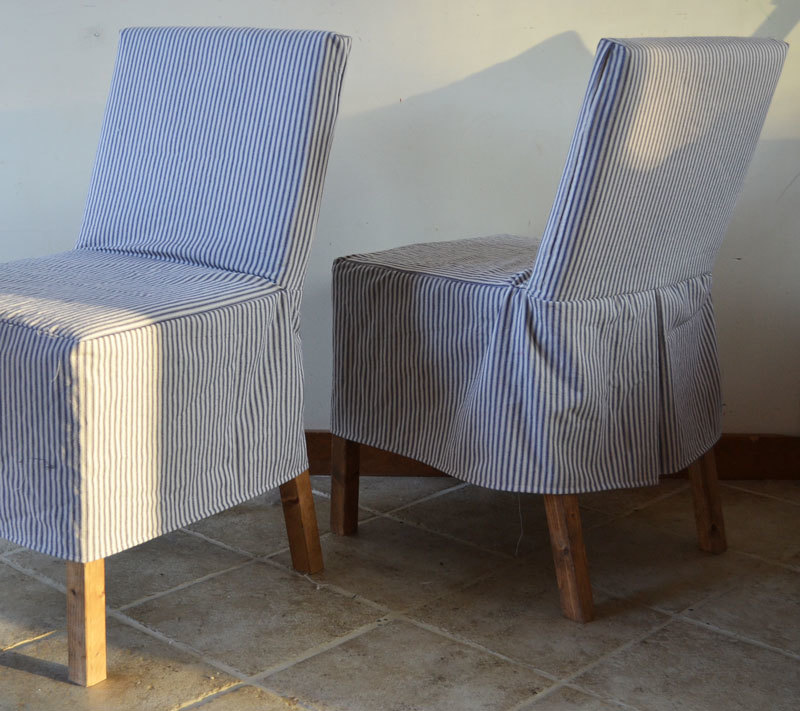 The Easiest Slipcover Pattern Ever! Make The Chair Too!