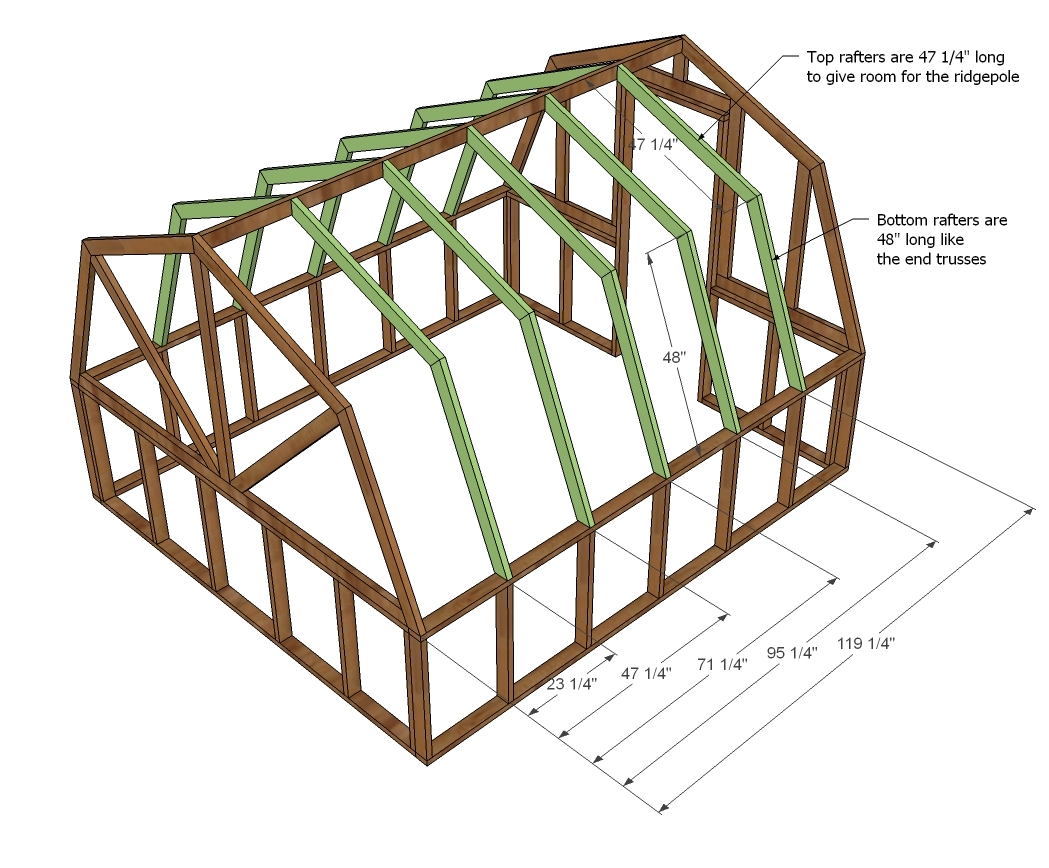 DIY Greenhouse | Ana White