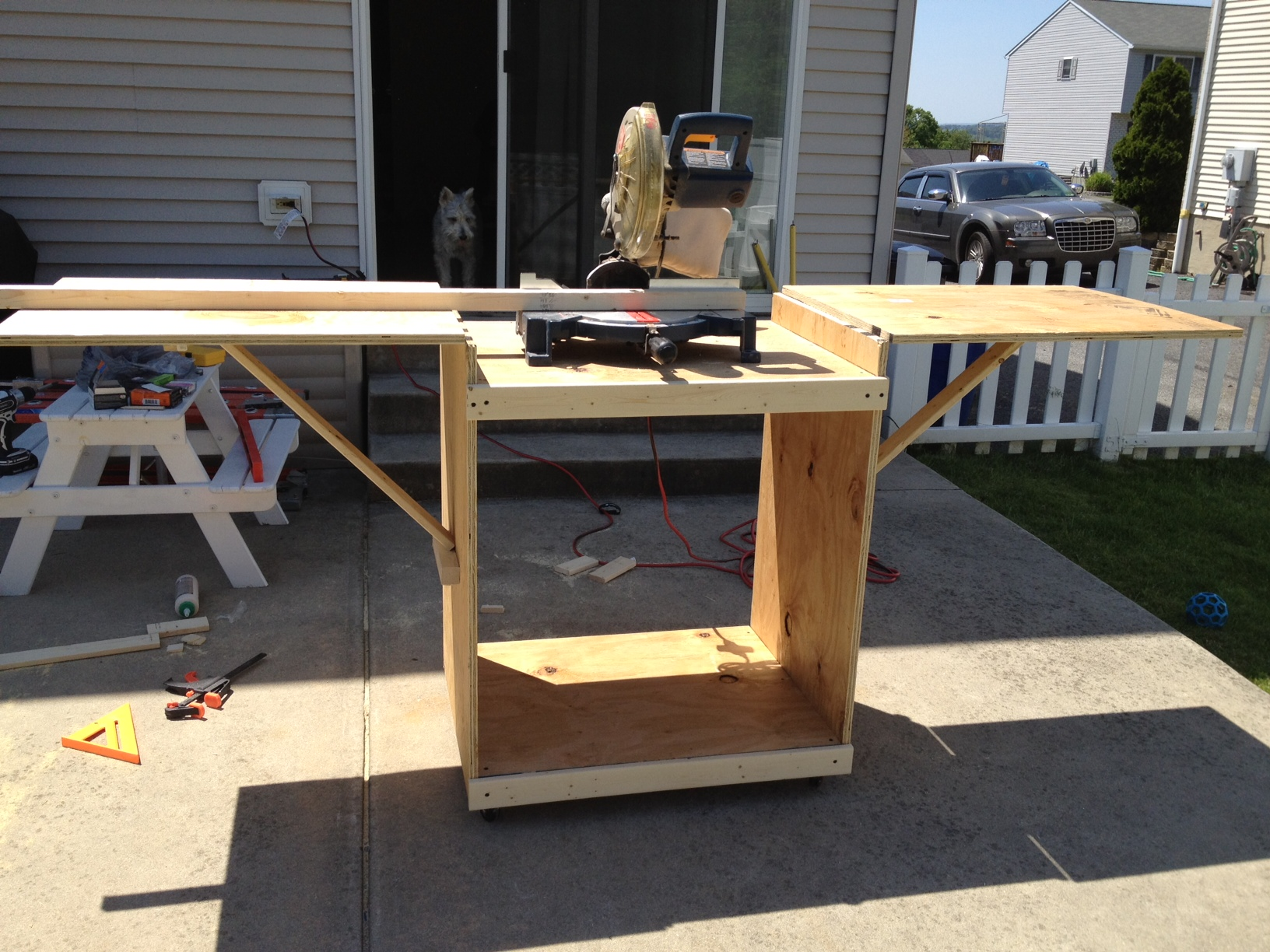 Ene Ehere More Free Woodworking Plans Miter Saw Stand