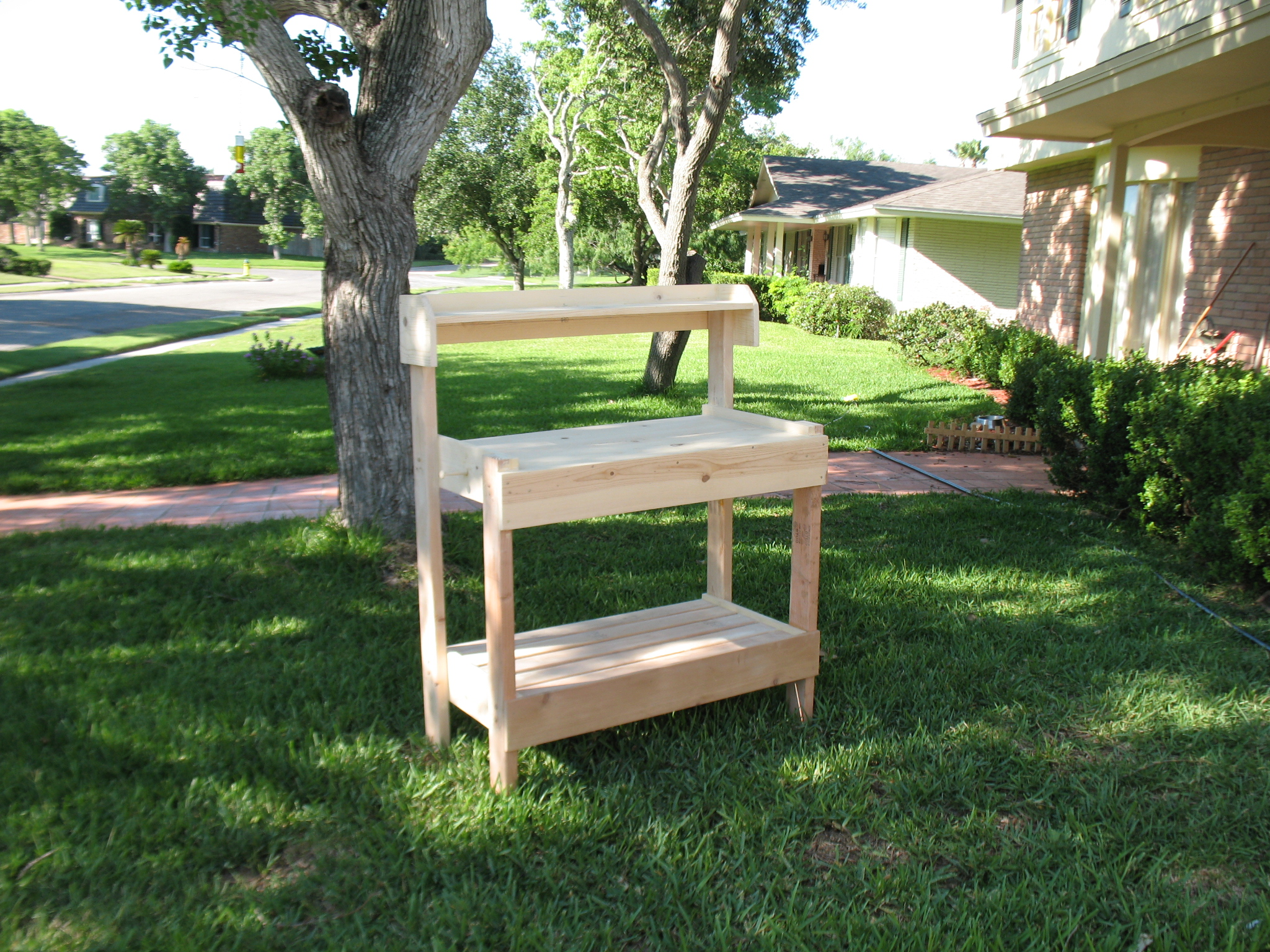 Ana White Potting Bench For A Friend Diy Projects