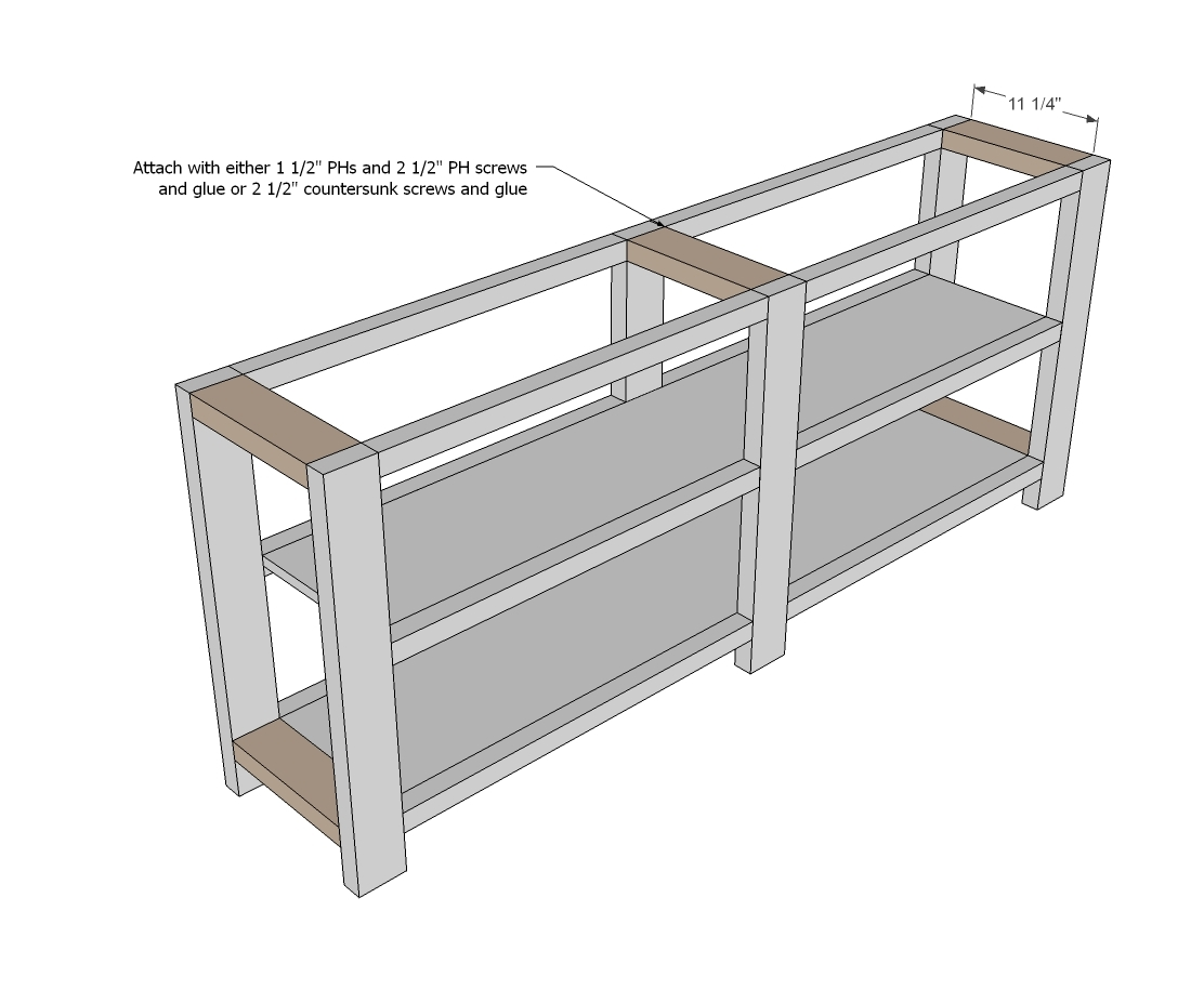 how to build shelf plans 2x4 pdf plans