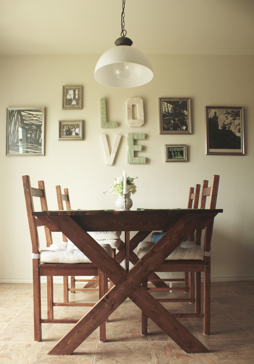 Picnic Table Dining Room Ana White Vanessa39s X Picnic Table Modified Diy Projects