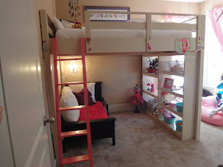Ana White Queen Loft Bed Diy Projects