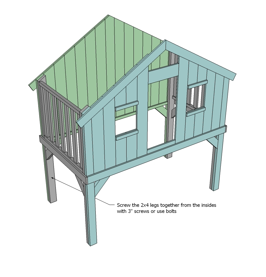 Tree House Bunk Bed Plans,House.Home Plans Ideas Picture