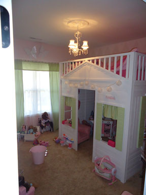 Ana White Loft Playhouse Bed Diy Projects