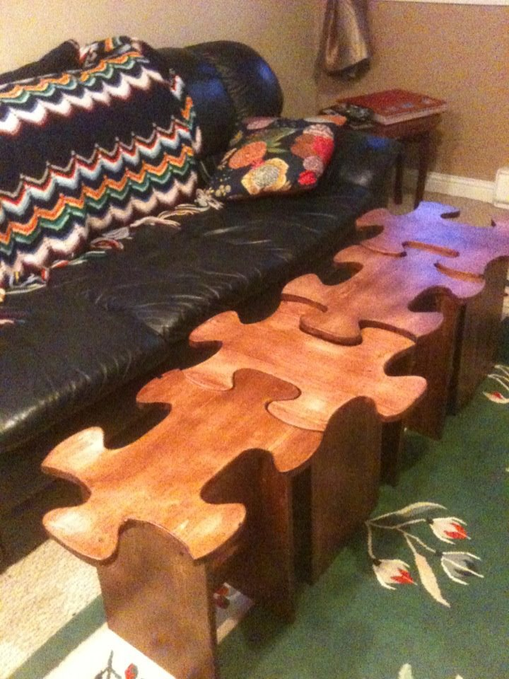 Ana White Jigsaw Puzzle Table Diy Projects