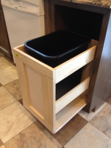 Kitchen Trash Pull Out Cabinet