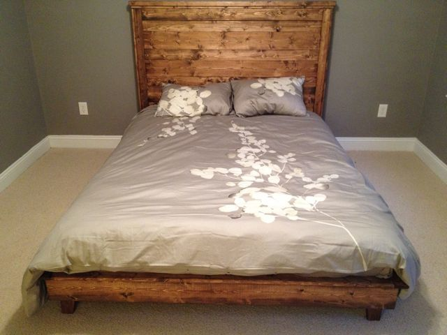Do It Yourself Home Design: Hailey Platform Bed - DIY Projects