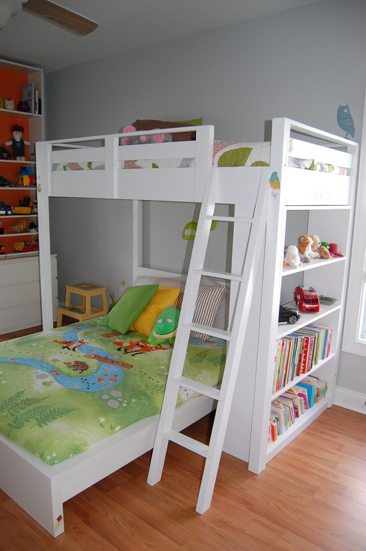 Ana White Loft Bed For Wyatt Diy Projects