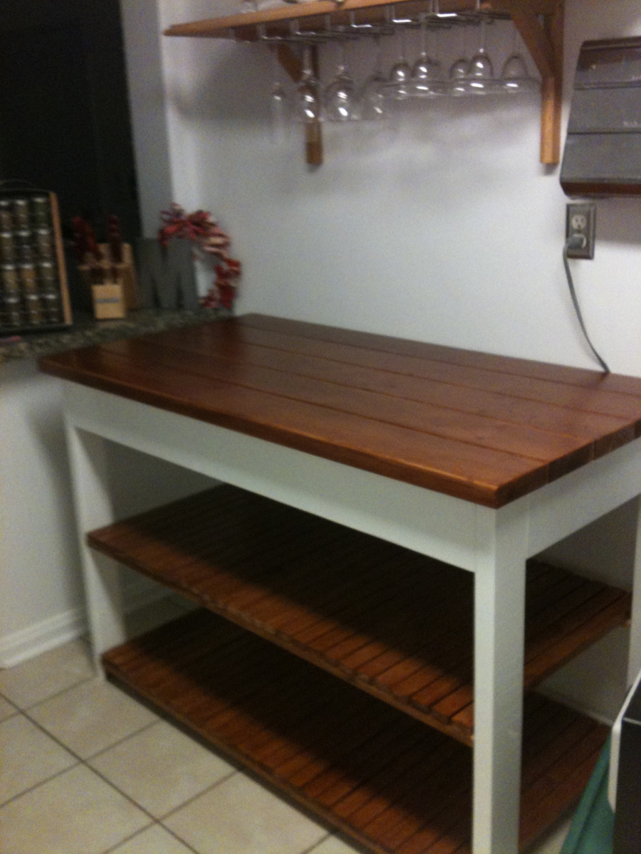 Ana White Kitchen Island Or Peninsula Diy Projects