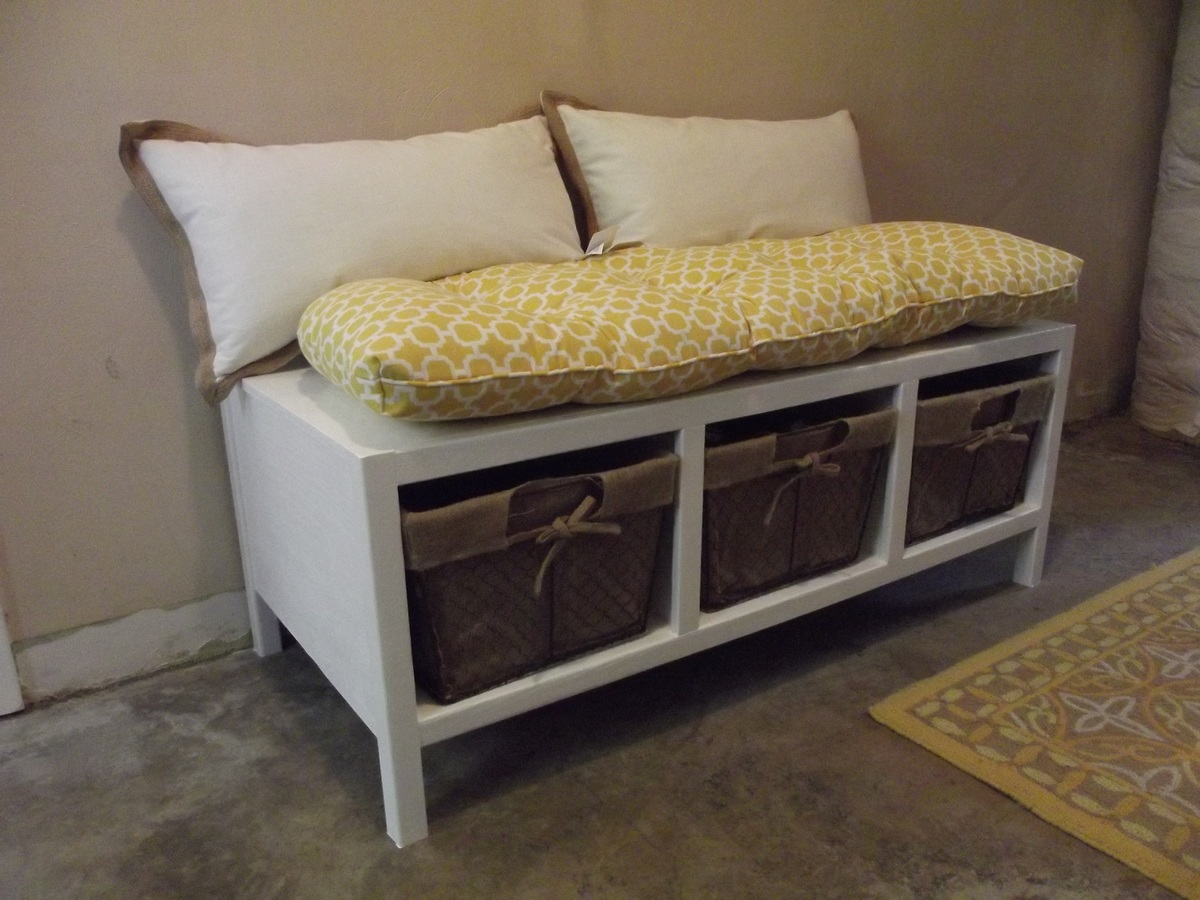 Ana White Storage Bench Diy Projects