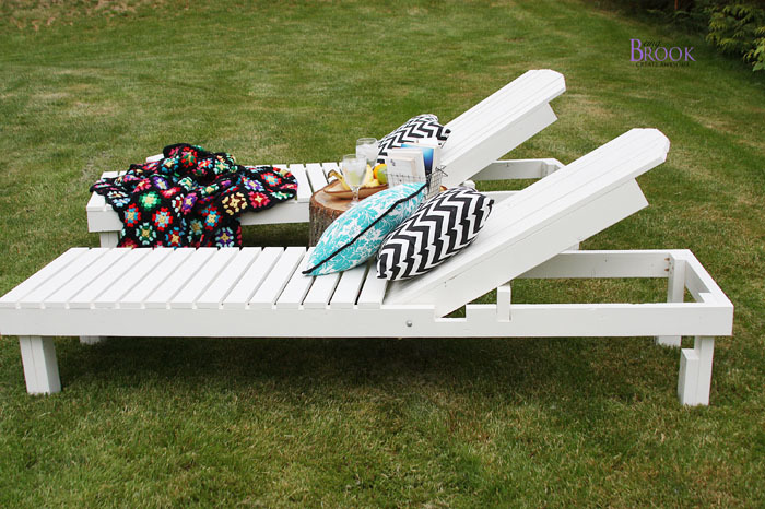 Exceptional And Boy Oh Boy Good Golly Did She Every Build A Outdoor Chaise Lounge!