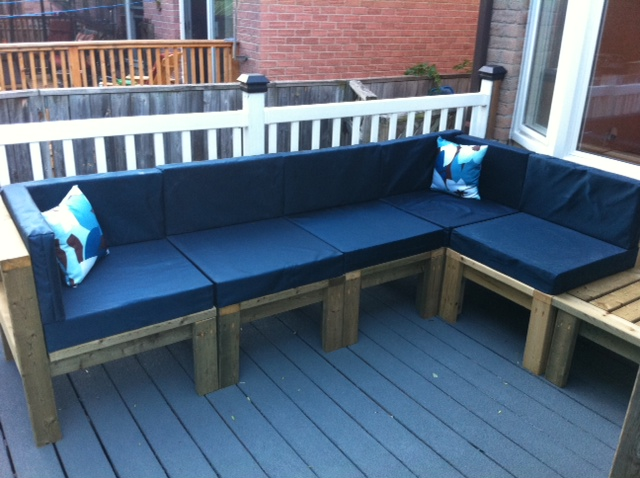 Outdoor Sectional Ana White