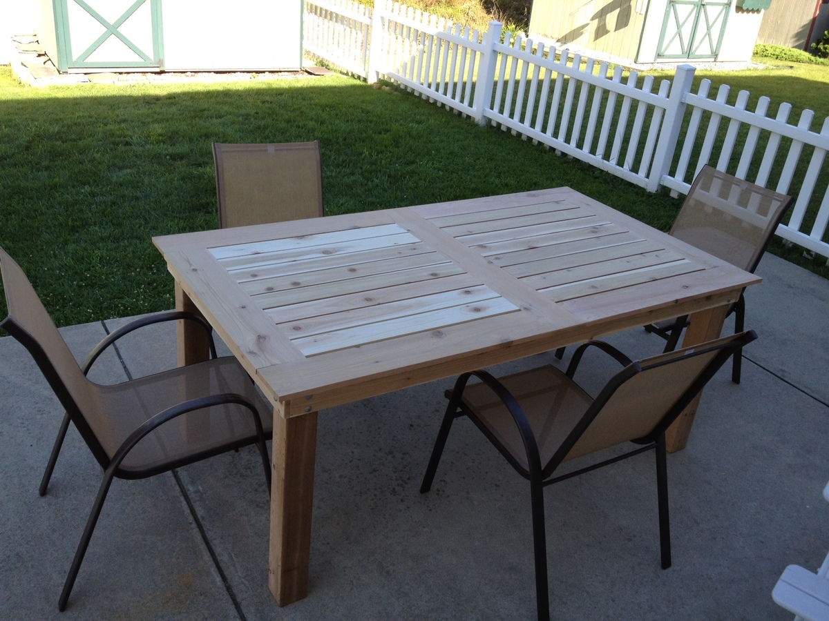 Backyard Table Plans : Posted By Rennie82 Free Do It Yourself Deck Plans View Original