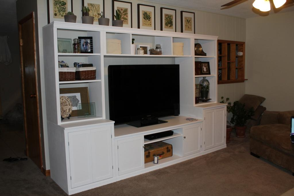 Ana White Logan Media Center Clic Storage Collection Diy Projects