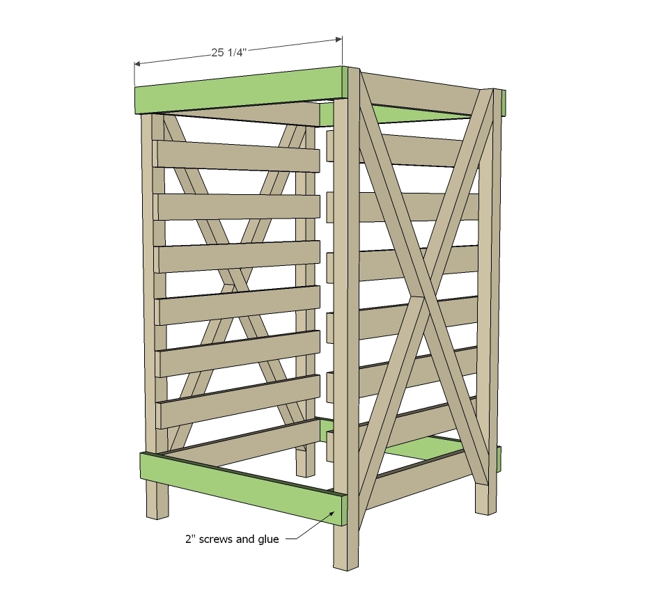 BluePrints For Building A Foods Storage Shelf - Page 2 of 2 - D.I.Y ...